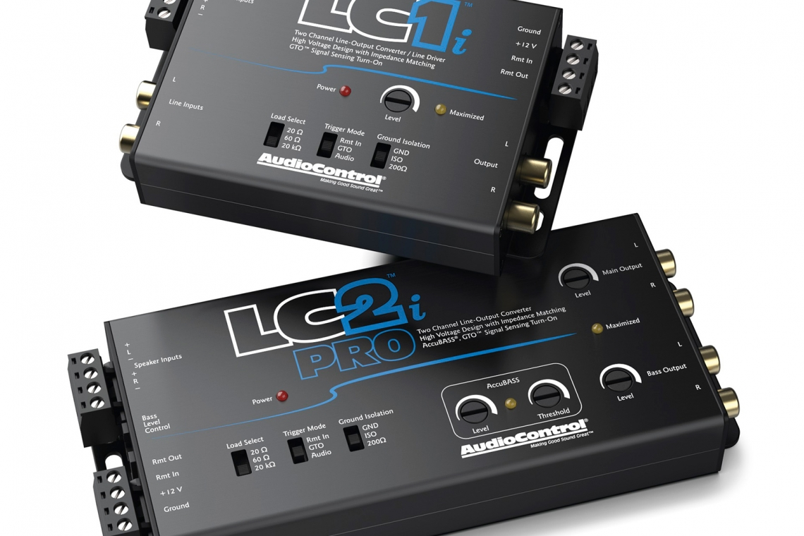 AudioControl's LC1i and LC2i PRO Join an Exciting Line of Integration Solutions
