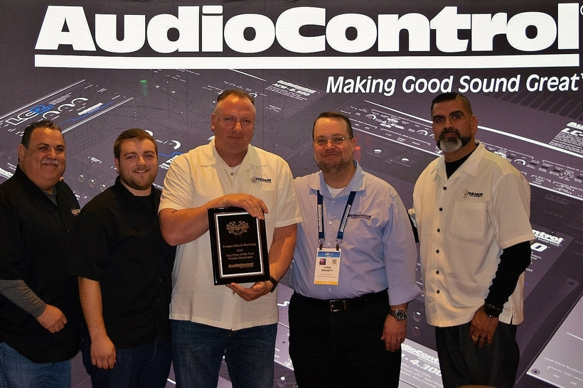 AudioControl Announces 2019 Rep of the Year Awards for Mobile Electronics