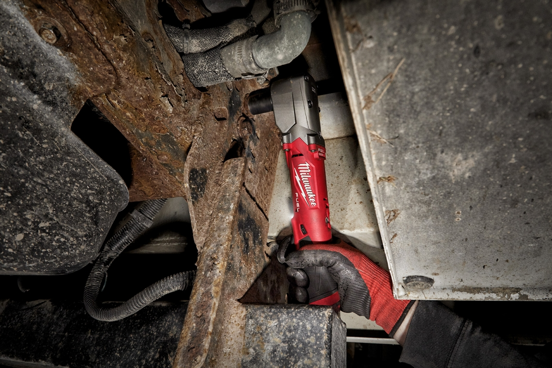 Milwaukee Tool Introduces the Industry's Most Powerful Right Angle Impact Wrench