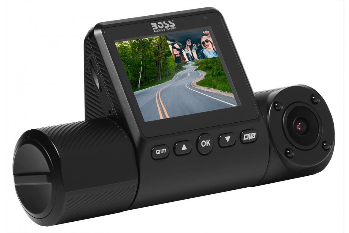 New BOSS Audio BCAMW80 Dash Cam Now Available
