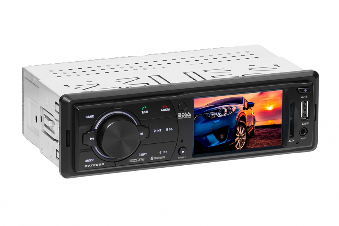 BOSS Audio Single-DIN BV7265B Video Media Receiver Now Shipping