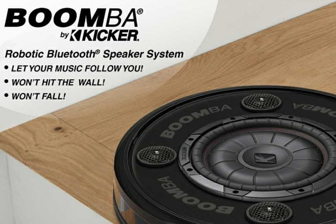Kicker Introduces BOOMBA Robotic Bluetooth Speaker System
