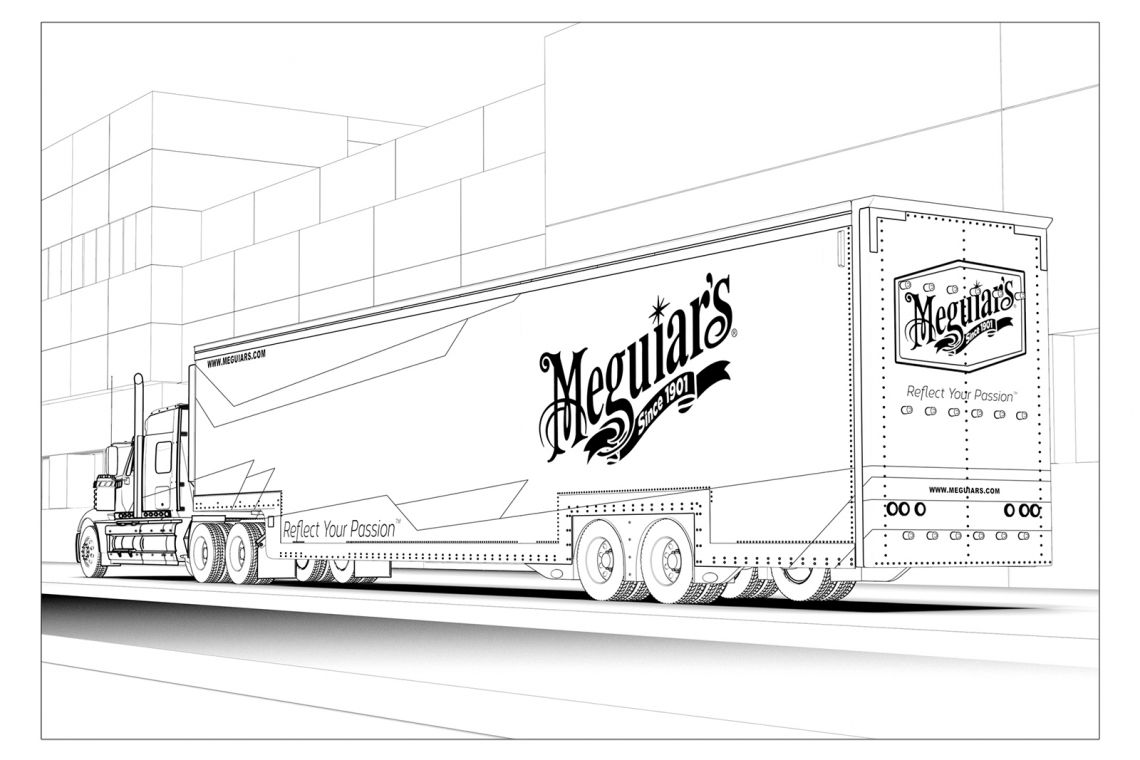 Get Creative With All-New Coloring Pages From Meguiar's