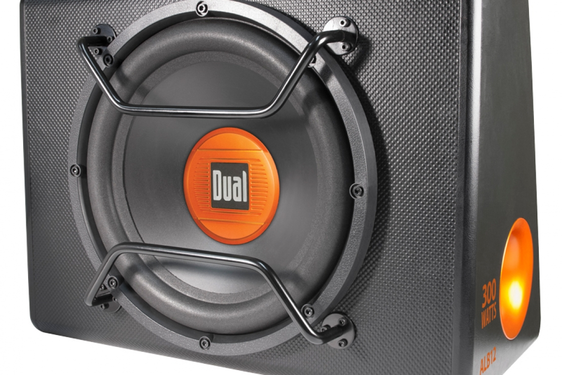 "Dual Electronics ALB12 - 12"" Amplified Subwoofer In A Ported Enclosure"