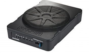 KICKER Hideaway 10-inch Compact Powered Subwoofer