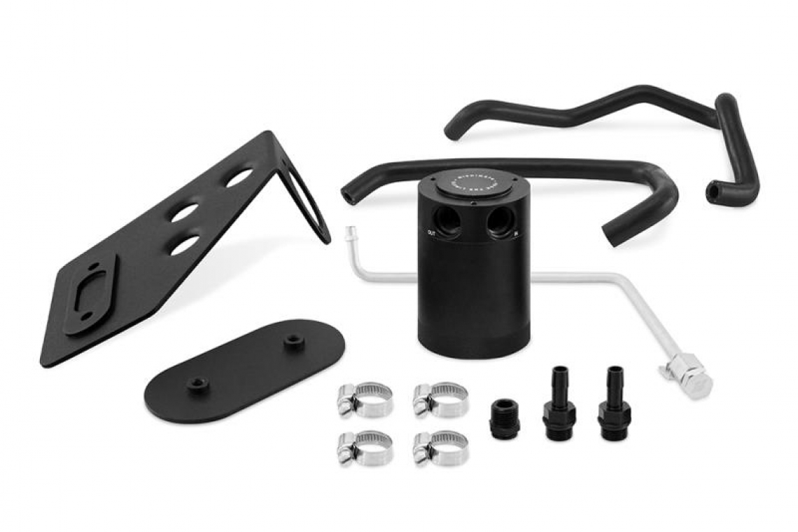 Mishimoto 3.0 Baffled Oil Catch Can Kit for 2020 Toyota Supra
