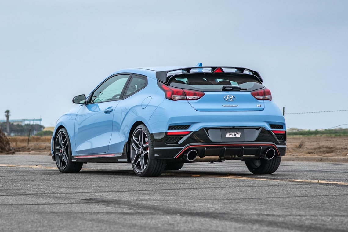 Borla 2019-2020 Veloster N Cat-Back™ Exhaust ATAK