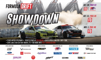 Formula DRIFT Announces Unavoidable Date Change for Texas Motor Speedway Event in October