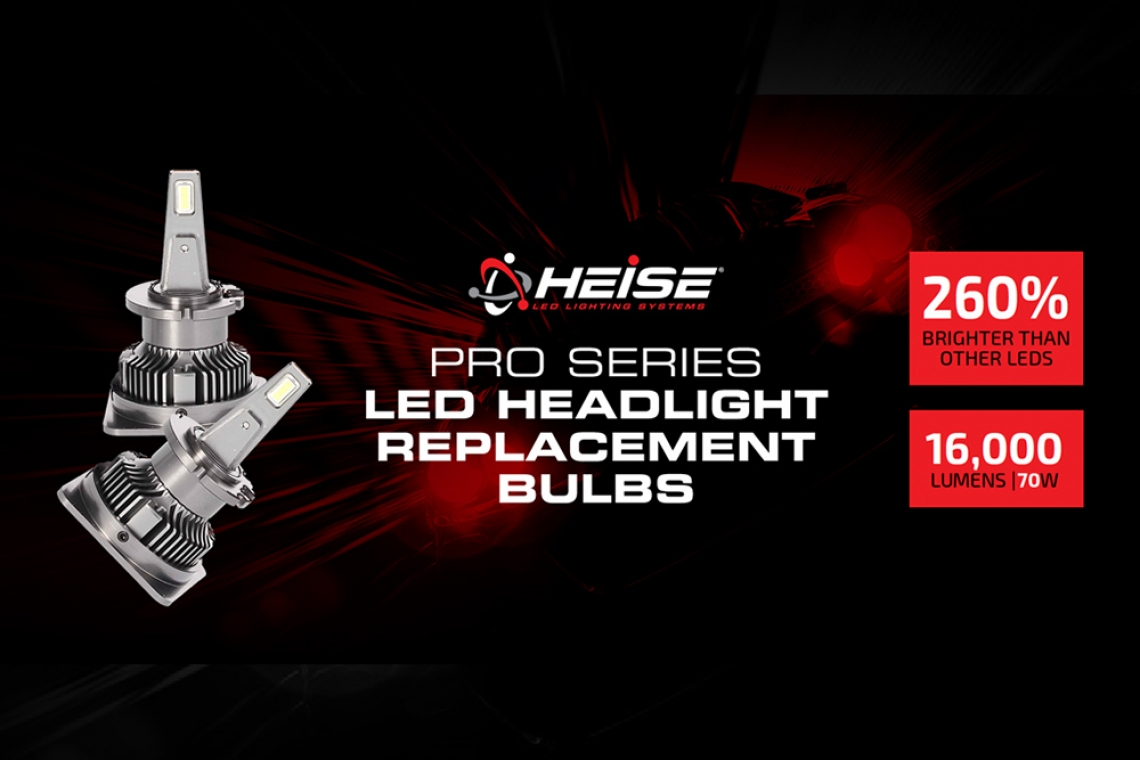 Heise Pro Series LED Headlight Replacement Bulbs