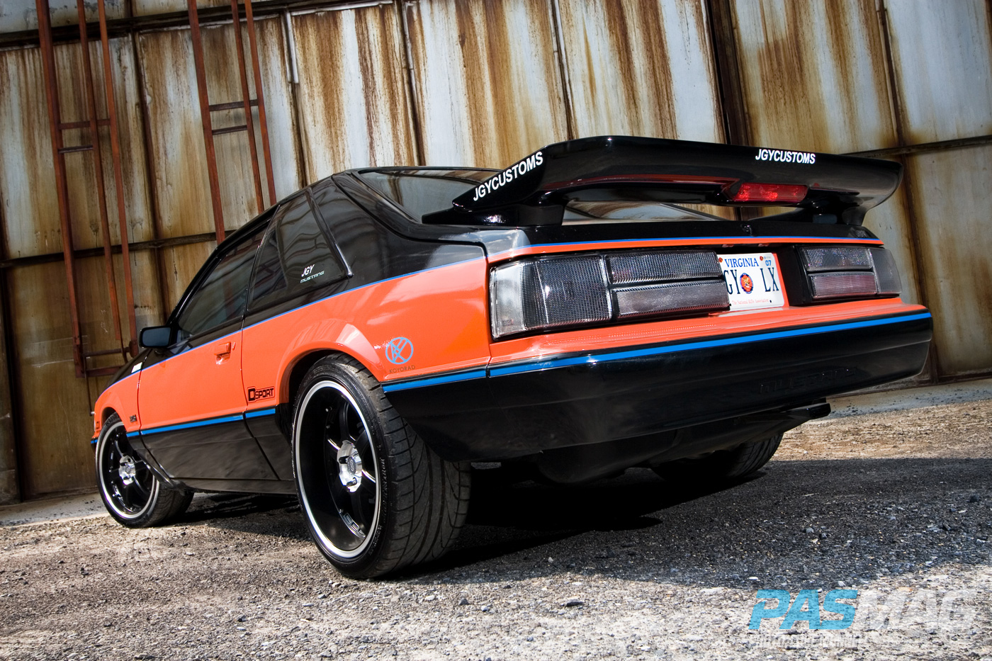 Undercover Brother: Jason Young's RB25 1993 Ford Mustang ...
