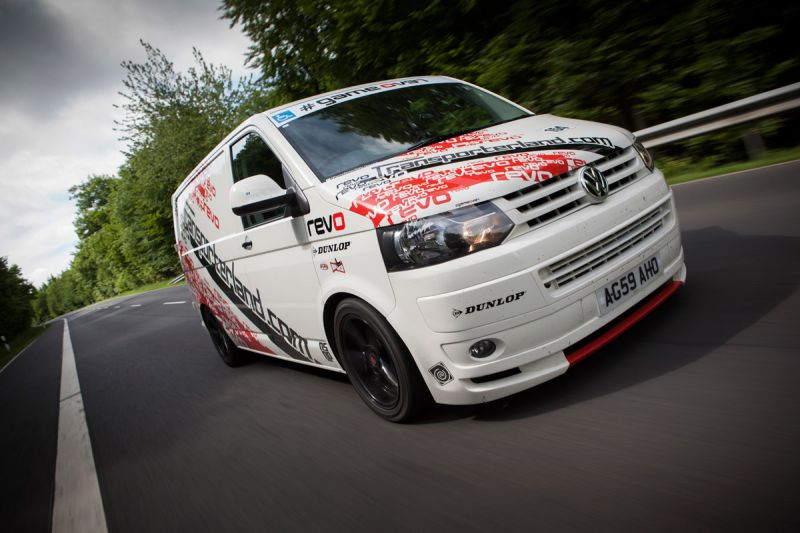 Revo VW T5 Smashes 'Ring Lap Record On First Attempt
