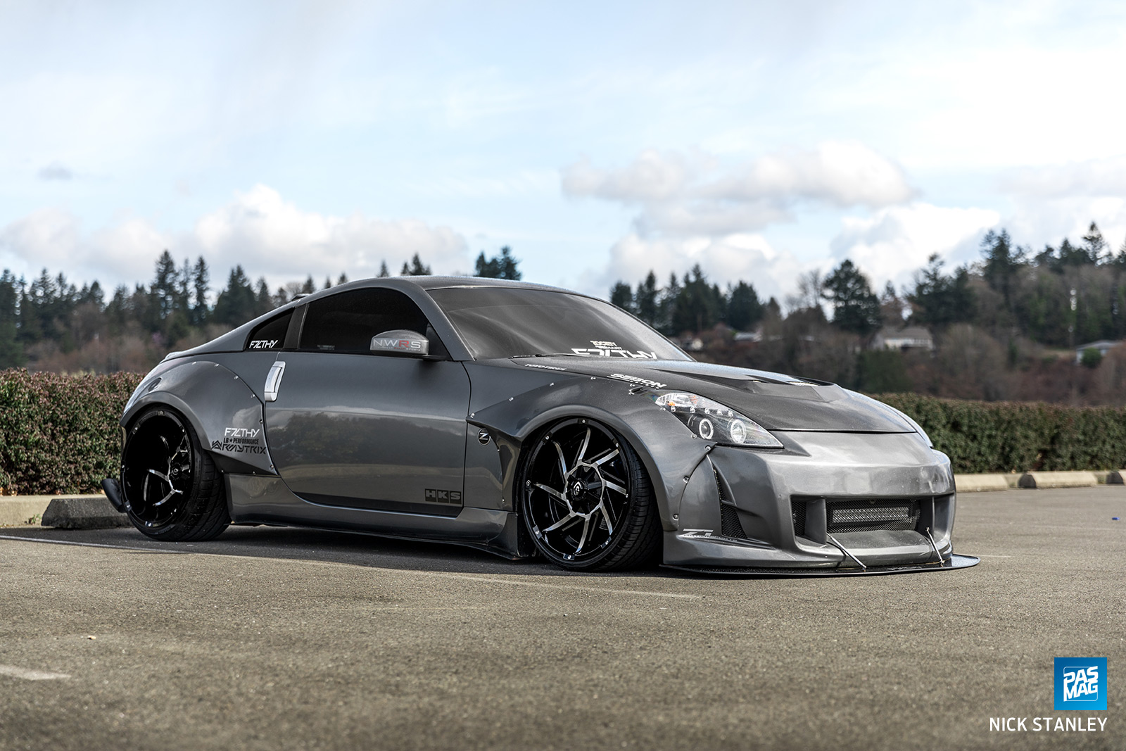 04 Jake Harn 2003 Nissan 350Z Tuner Battlegrounds PASMAG