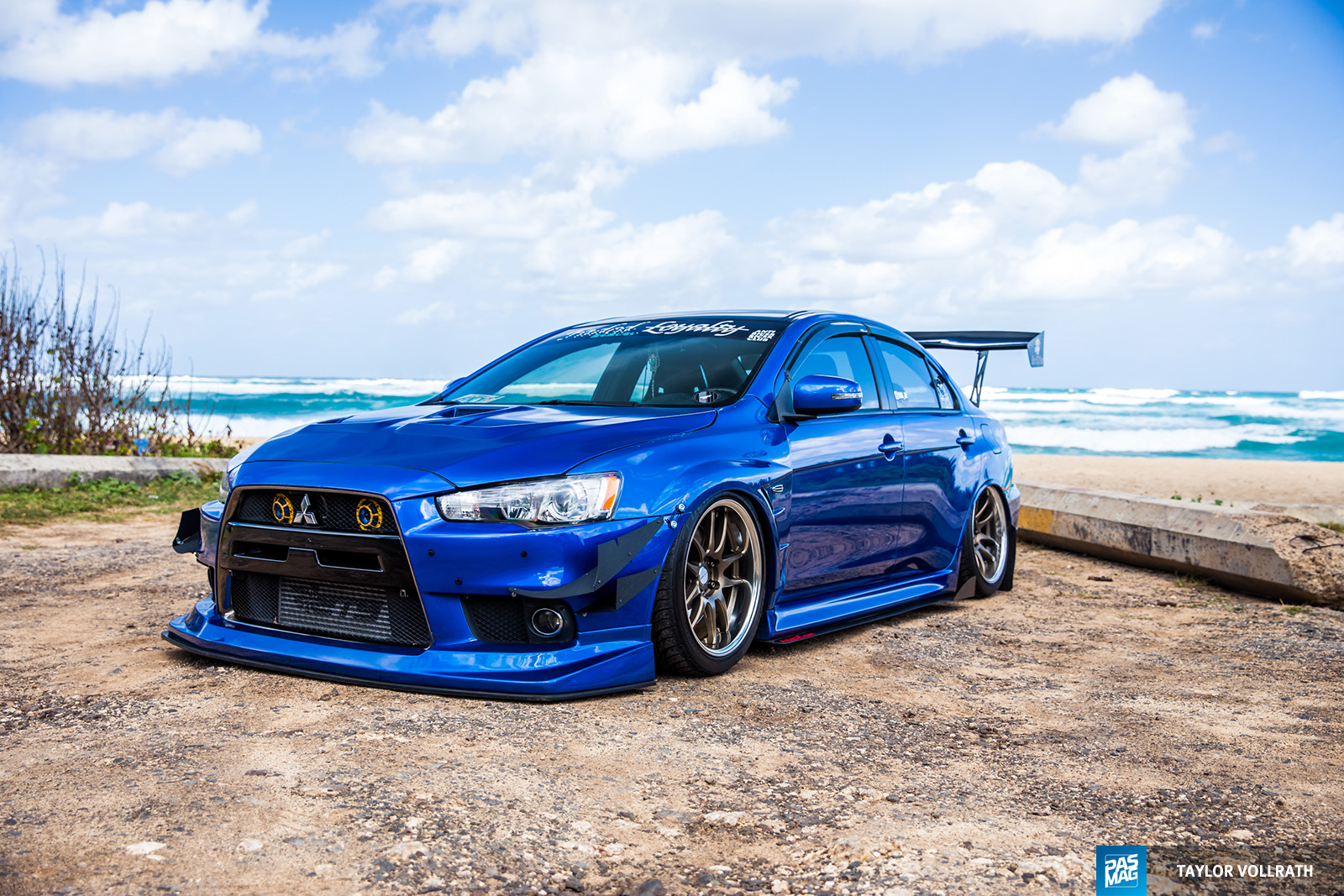 01 JM Andrada 2015 Mitsubishi Evolution X PASMAG Tuner Battlegrounds