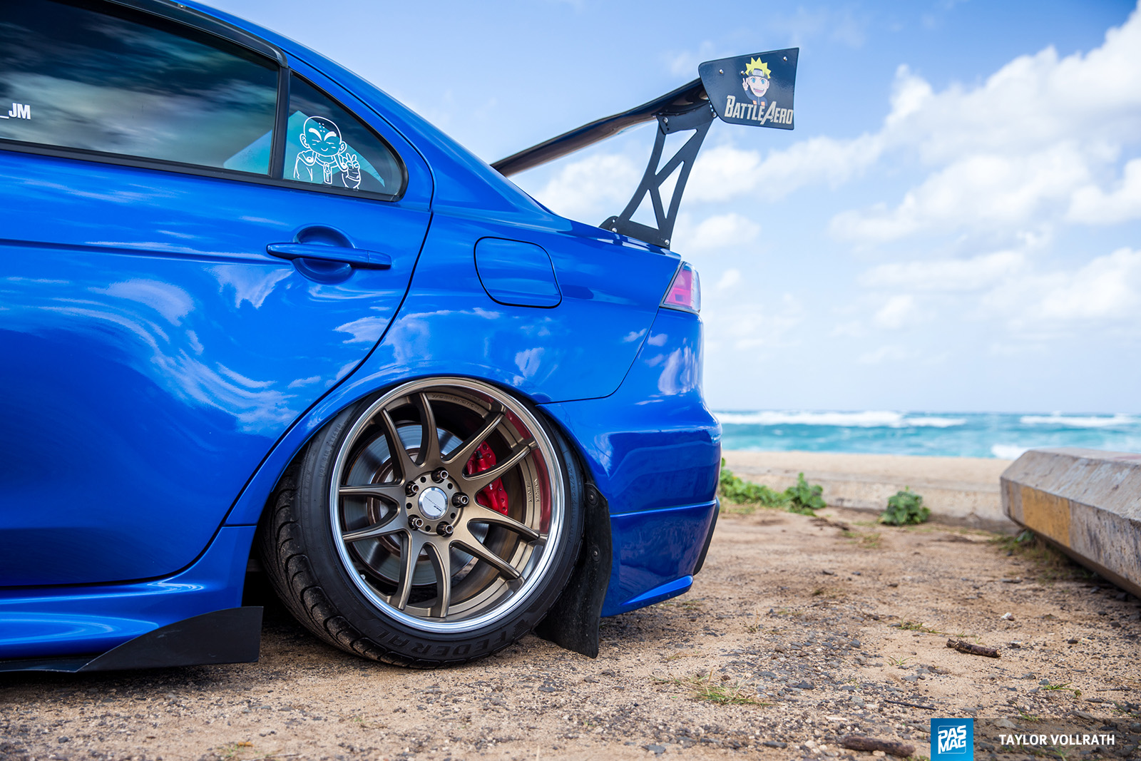 03 JM Andrada 2015 Mitsubishi Evolution X PASMAG Tuner Battlegrounds