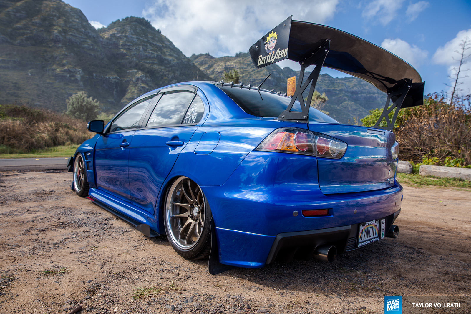 31 JM Andrada 2015 Mitsubishi Evolution X PASMAG Tuner Battlegrounds