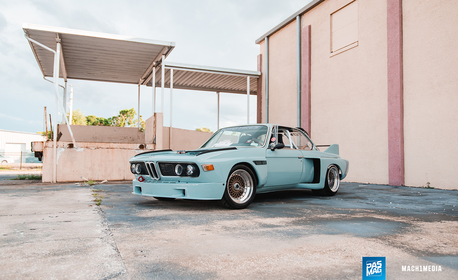 03 Willy Izaguirre 1973 BMW 3.0 CS PASMAG