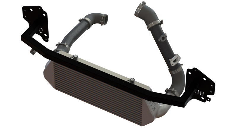 sxth element engineering veloster n front mount intercooler reinforcement bar pasmag