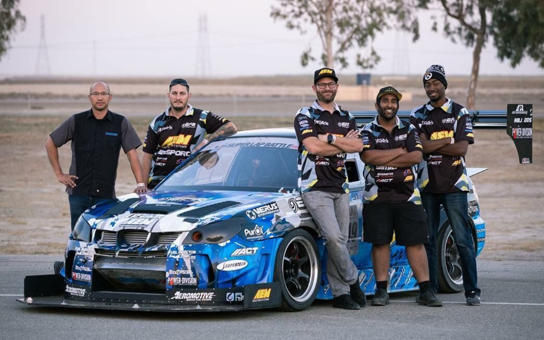 Whiteline USA Team Jager Racing1