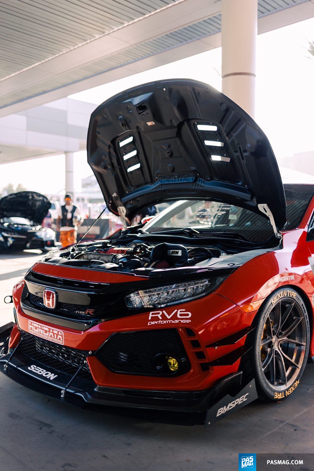 07 Jonny Guerra 2017 Honda Civic Type R pasmag tuner battlegrounds