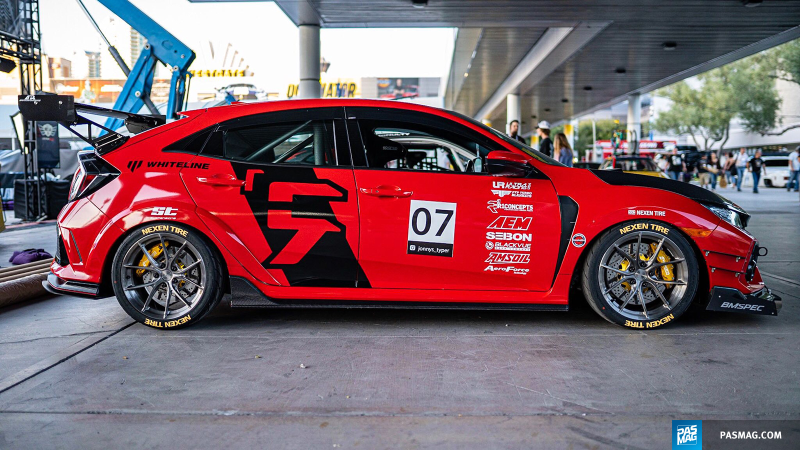 14 Jonny Guerra 2017 Honda Civic Type R pasmag tuner battlegrounds