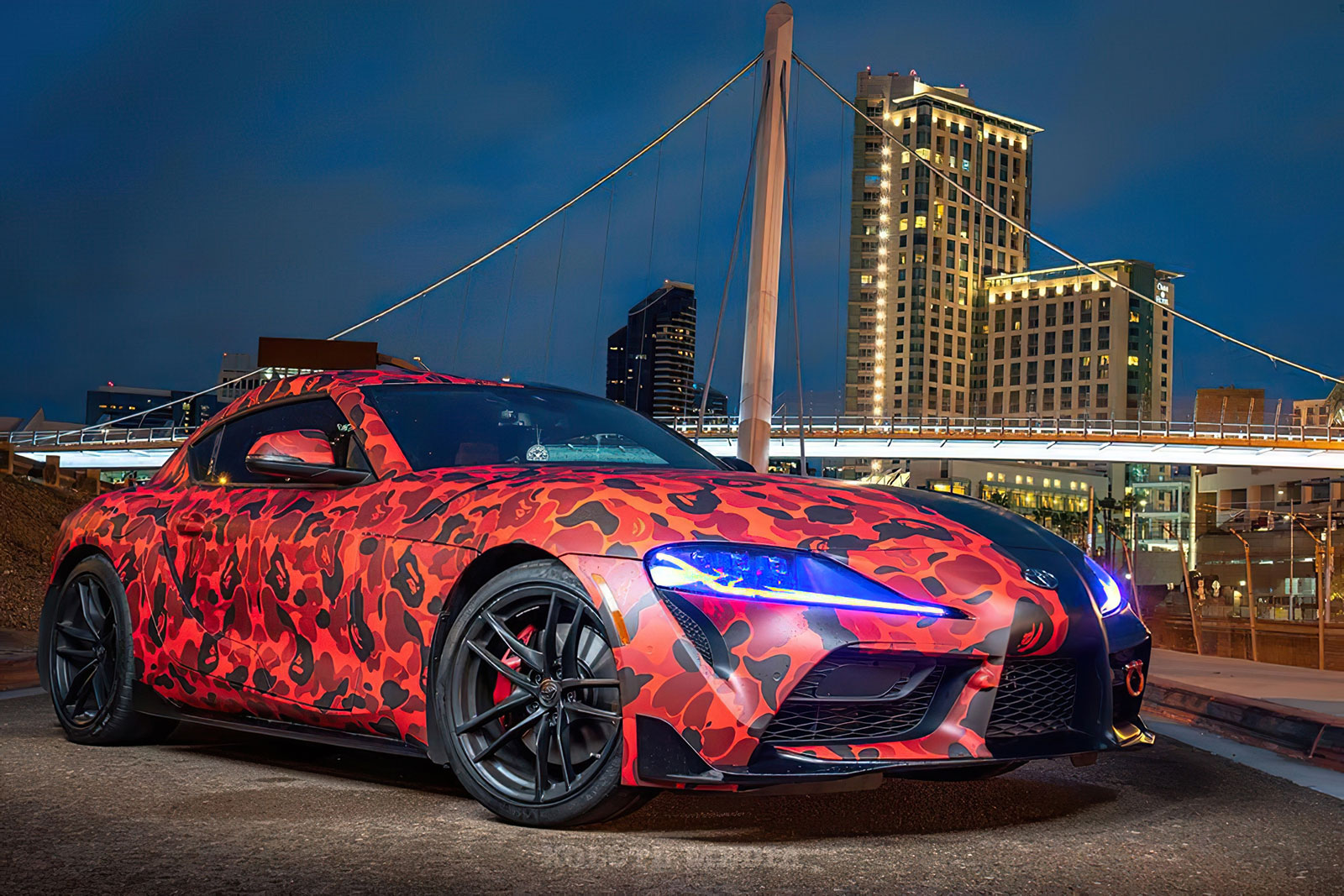 oracle lighting toyota a90 supra pasmag 05