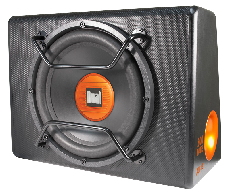 dual electronics ALB12 12 Amplified Subwoofer Ported Enclosure pasmag 01