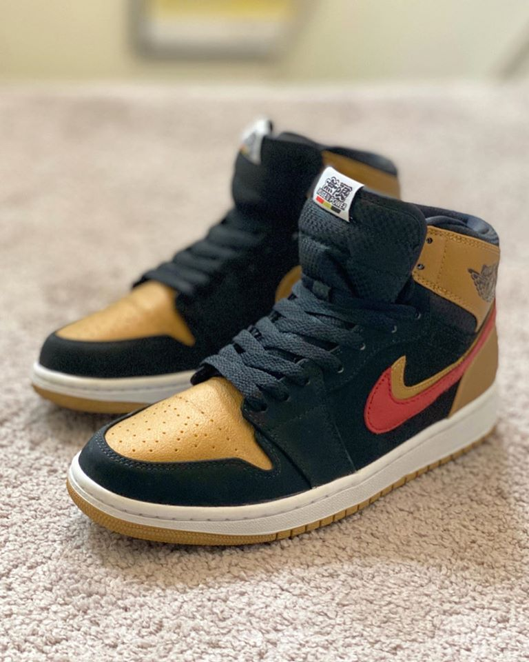 Nike Air Jordan 1 Retro High Melo Mugen Power Shoe RJ DeVera pasmag 02