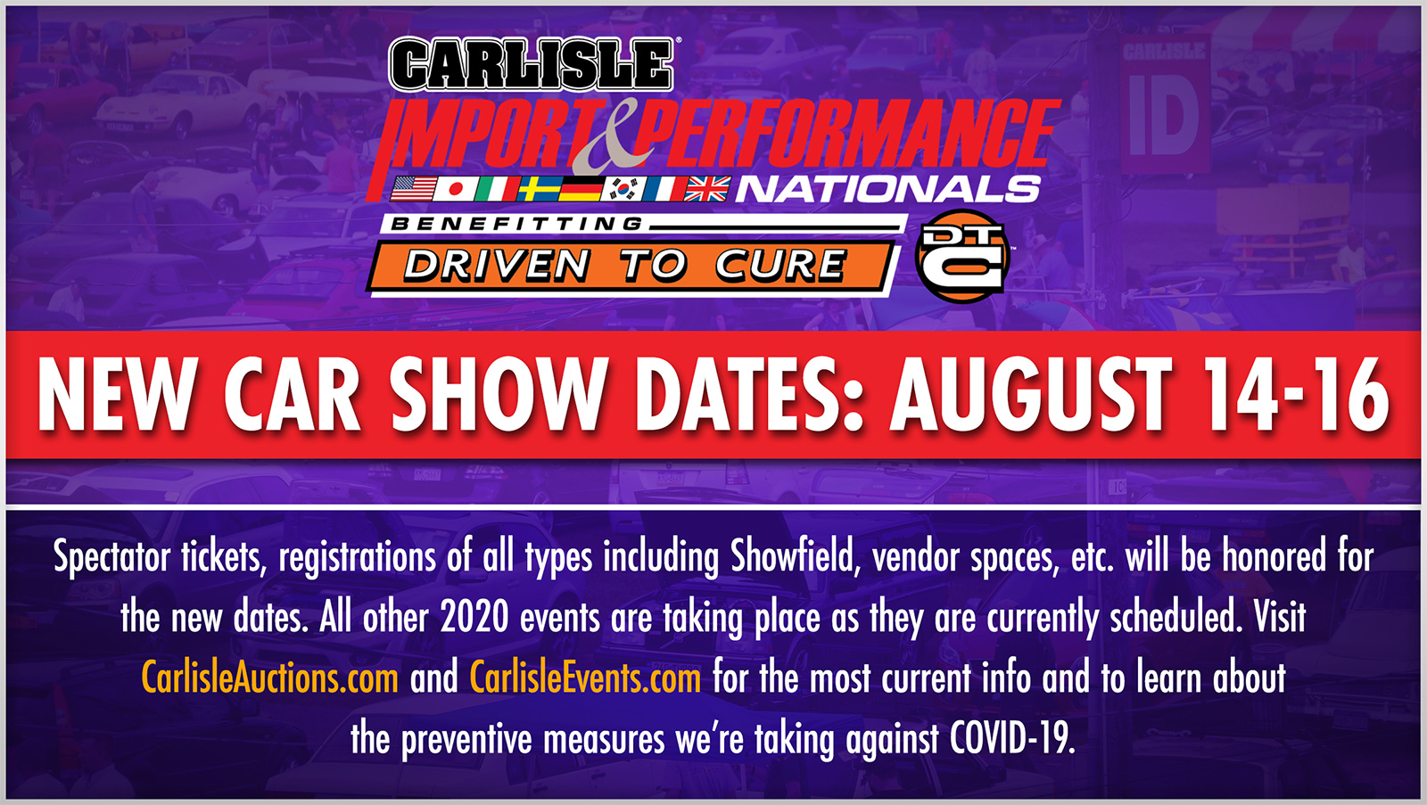 Carlisle Import and Performance pasmag 2020 rescheduled
