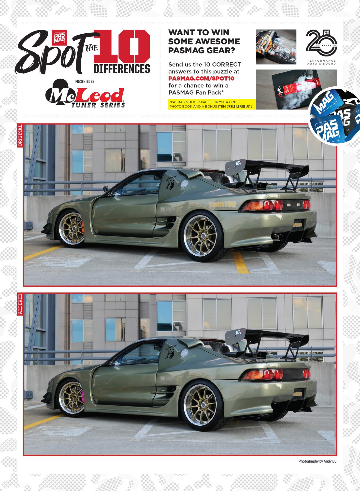 PASMAG Spot the Differences May 19 2020 Afrim Zeka 1991 Toyota MR2 pasmag