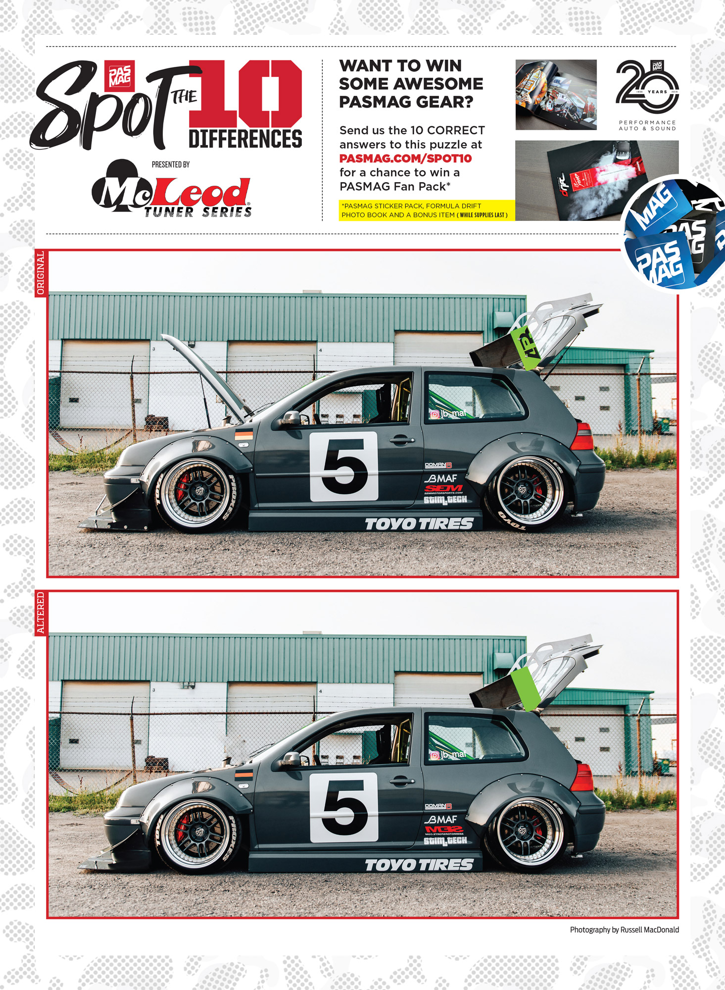PASMAG Spot the Differences May 8 2020 Jason Bos 2003 VW Golf GTI pasmag