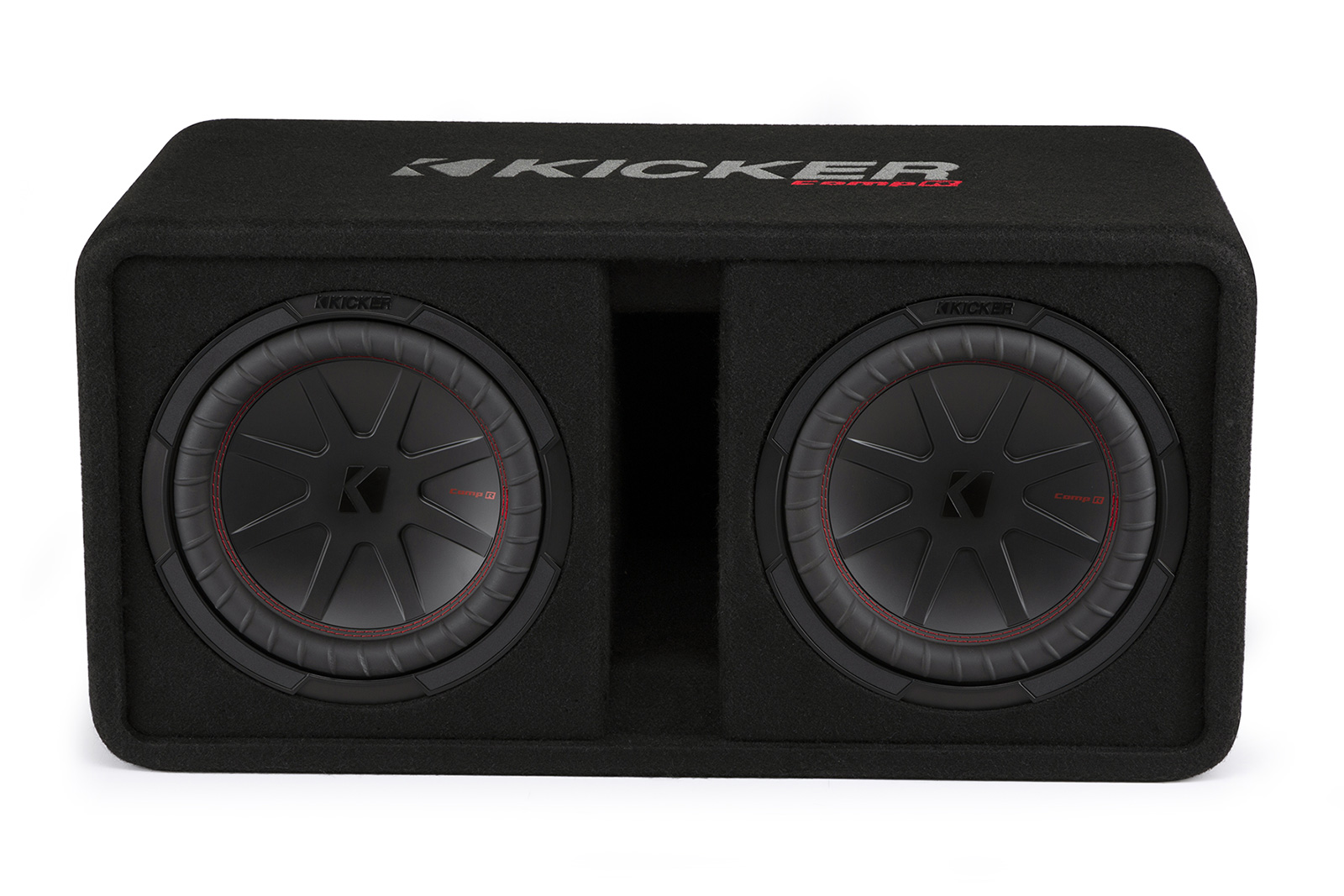 KICKER CompR Loaded Enclosures pasmag 48DCWR10 10 inch dual