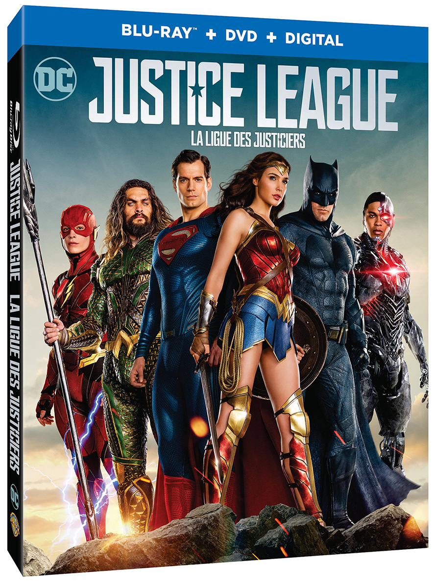 Justice League Canada Box Art