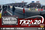 TX2K20 Spectator Tickets Now on Sale!