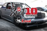 Spot The Differences: Tim Lajambe's F7LTHY Mercedes 190E