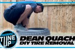 Dean Quach DIY Tire Removal is Hard to Watch