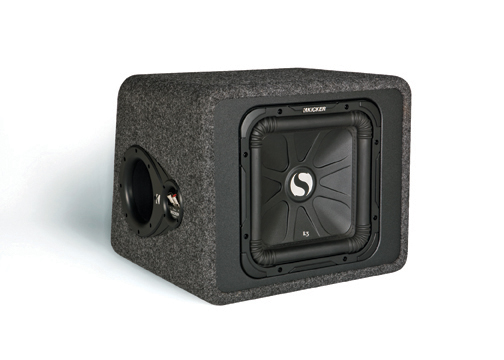 KICKER Solo-Baric L3 Sub Boxes Satisfy the Most Rad Bass Cravings