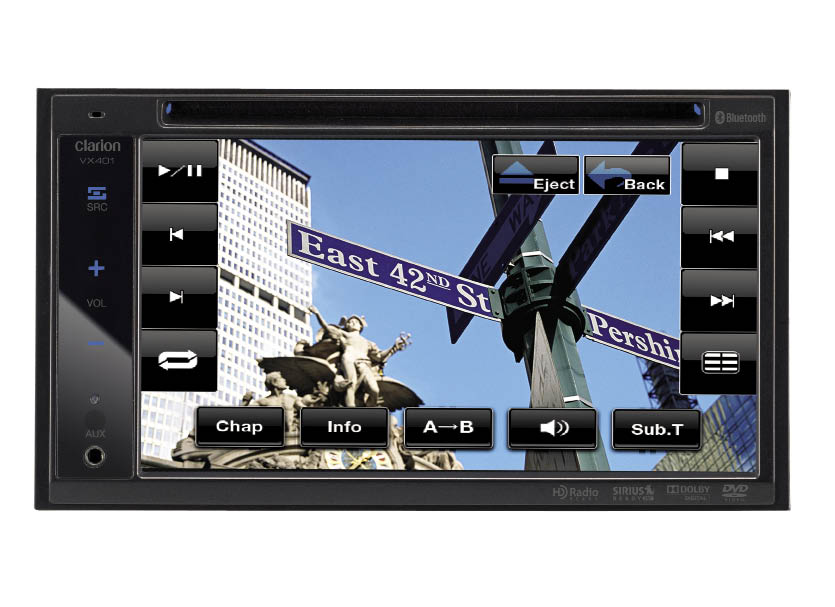 Test Report: Clarion VX401 Multimedia Receiver Review