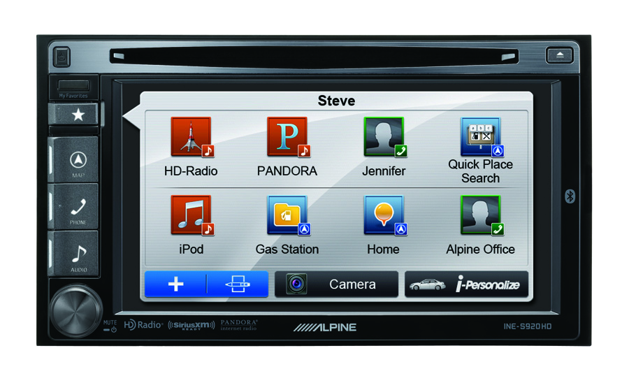 Alpine Electronics Now Shipping INE-S920HD Audio/Video/Navigation System
