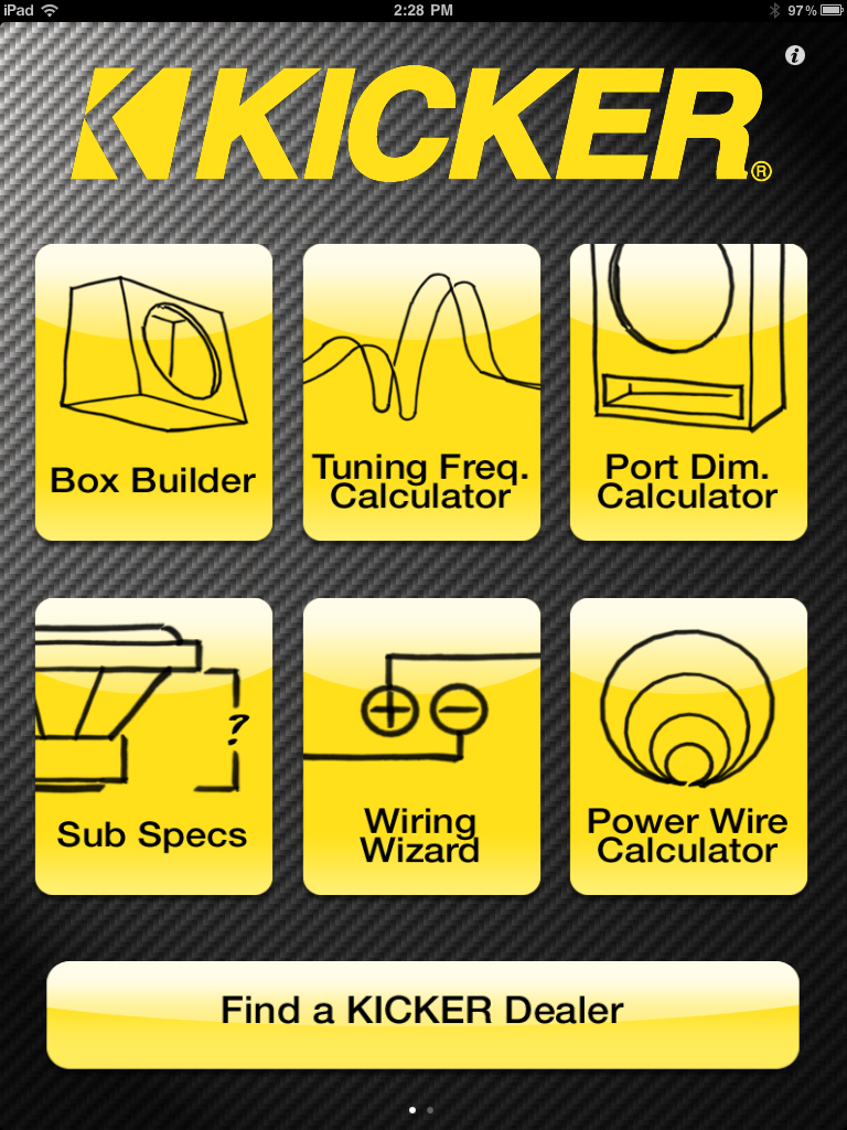 KICKER U™ App Now Available in Android™ Market; New Features in Version for iPhone®/iPad®