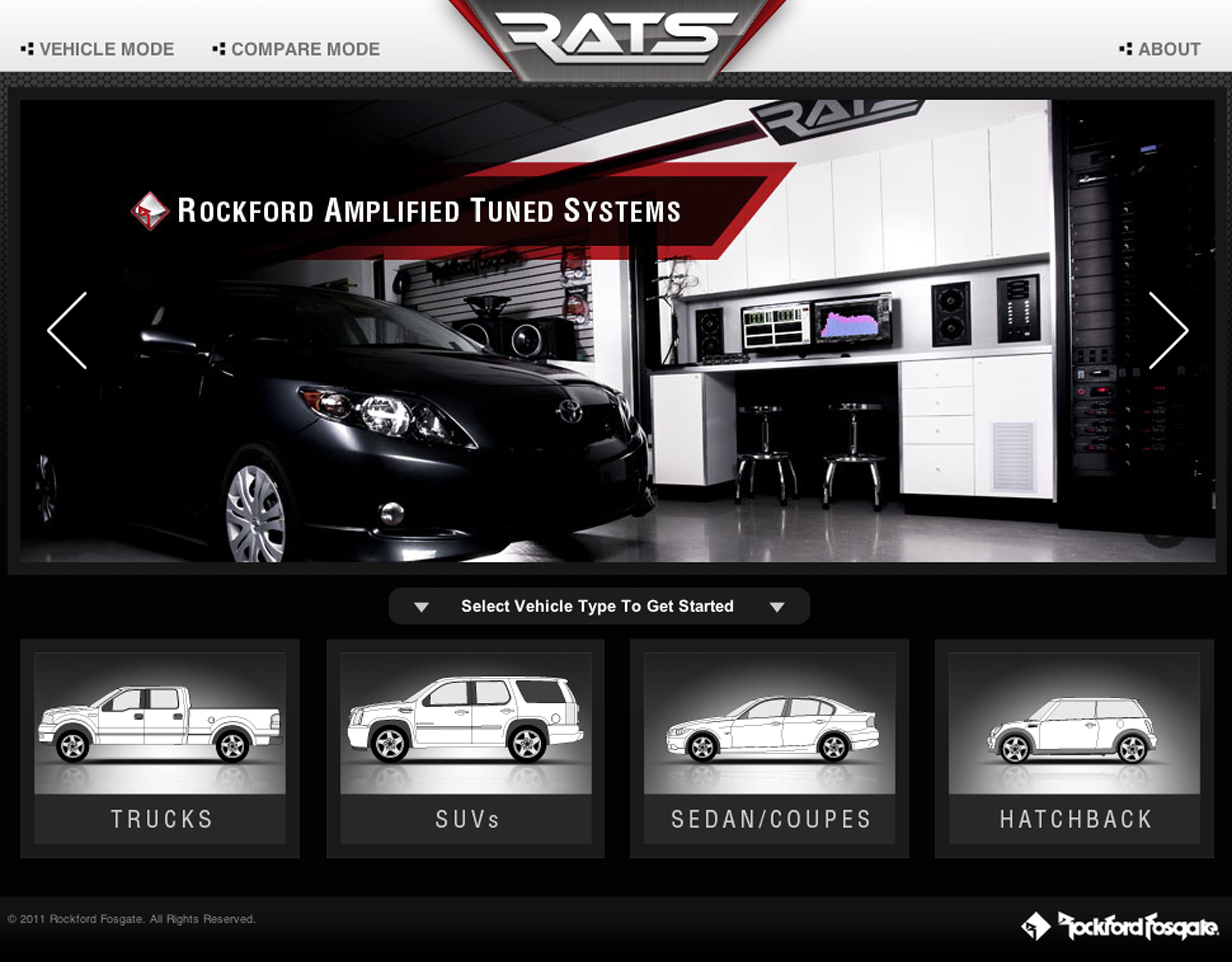 Rockford Fosgate Launches Rockford Amplified Tuned System (RATS) Online & Smartphone Installation Tool