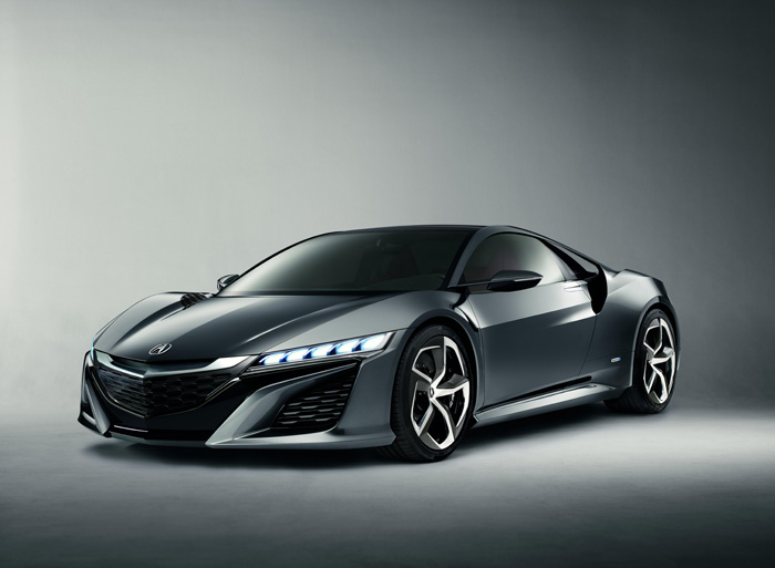 Acura Unveils Next Evolution of NSX Concept at  2013 North American International Auto Show